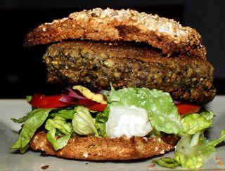 Veg burger 1